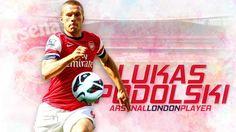 Lukas Podolski #9 Arsenal 2012-2013 HD Best Wallpapers