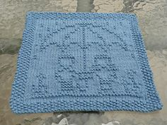Ravelry: April Dishcloth KAL pattern by Kris Knits Knitting Blocking, Knitting Squares, Dishcloth Knitting Patterns, Crochet Dishcloths, Knit Or Crochet, Loom Knitting, Knitting Stitches, Crochet Crafts, Knit Patterns