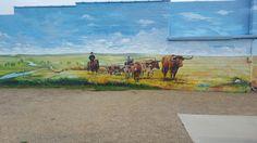 Mural in South Dakota