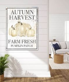 Want something unique this fall for your farmhouse walls? Our vintage design canvas art will make your living room, kitchen or entry pop. #modernhomes #modernfarmhouse #farmhousedecor #farmhouse #farmhouselivingroom  #cottagedecor #cottage #industrialfarmhouse  #farmhousebedroom #vintagesign #shop #fallforhomedecor #falldecorinspiration  #entryway #holidaydecorating #fall #pumpkin #signs #wallart #farmfresh #pumpkinpatch #farmfresh #harvest #wallsofwisdom #domain38 Modern Farmhouse Living Room Decor, Farmhouse Wall Art, Unique Wall Art, Modern Wall Decor, Rustic Wall Decor, Home Decor Wall Art, Farmhouse Decor, Farmhouse Kitchens, Farmhouse Style