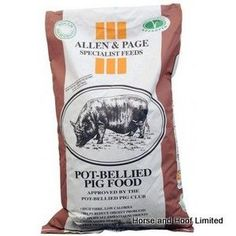 Allen Page Pot Bellied Pig Food Allen Page Pot Bellied Pig Food is a specially formulated feed designed for pot-bellied pigs. Pot Belly Pig Food, Pot Belly Pigs, Electric Fence Energizer, Pig Feed, Heat Stress, Poultry Supplies, Backyard Poultry