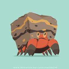 Crustle pokemon rock bug