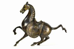 Vintage bronze #samurai #horse available at #Dallas #Mecox #interiordesign #statue #figurine #MecoxGardens #furniture #shopping #home #decor #design #room #designidea #antiques #garden