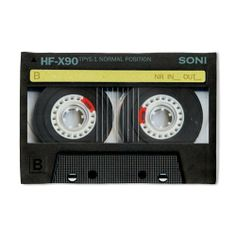 """Audio Cassette Pillow Case by CafePress - White by CafePress. $22.50. 100% satisfaction guarantee return policy. Pillow Case Size: 29"""" x 19.5"""". Prints on one side, reverse is white. Pillow opening on right side. Super soft. Vintage cassette pillowcase"""