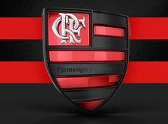Flamengo Logotipo 3D on Behance Logo 3d, Maxon Cinema 4d, Porsche Logo, Behance, 3d Text, Real Madrid, Typo, Ads, Design