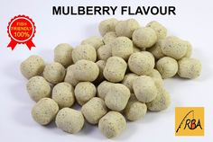 RBA Mulberry Flavour Dumbbell Bottom Bait Hookers Carp Fishing Boilies  #RBA