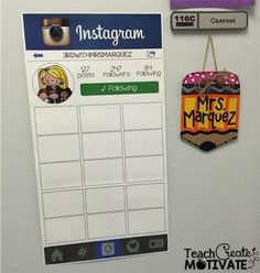 Classroom Instagram poster!