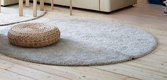 Bildresultat för stor rund vit matta
