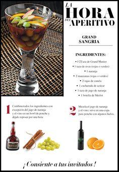 Se acerca el fin de semana, ¿tienes reunión en casa? nosotros te decimos cómo sorprender a tus invitados. #Cocktail #Frutas #Wine #LifeStyle #Gourmet
