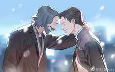 Detroit become human Connor and Hank By: hedaowlp