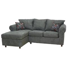Microfiber sectional sofa with chaise dewitt sectional - Elites Home Decor Sectional Sofa With Chaise, Sofa Couch, Couch Set, Leather Sectional, Sleeper Sectional, Black Sectional, Big Sofas, Gray Sofa, Coastal Living Rooms