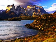 Patagonia, Chile -- Torres Del Paine National Park. As an avid lover of mountains, Patagonia has intrigued me forever