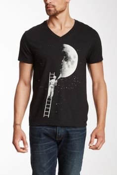 ARKA Lunar Artist V-Neck Tee
