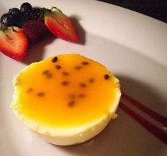 Our #Waiolu lilikoi cheesecake is just the right combination of sweet and tangy.  #TrumpWaikiki #Waikiki #Hawaii #Dining #Restaurants #Travel #Tropical #Dessert #Lilikoi #Cheesecake