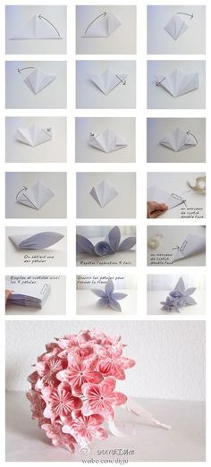 Kusudama Flower Bouquet