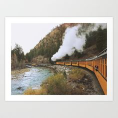 Steam Train Art Print by Kevin Russ