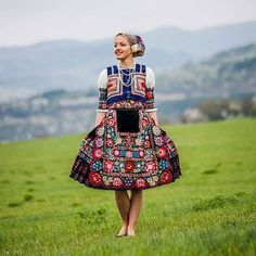 Slovak folk costume from Dobrá Niva