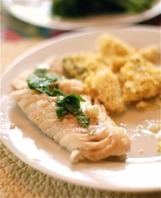 Perfect Grilled Fish with Lemon Oil and Mint