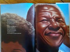 Nelson Mandela is a lyrically-written and stunningly-illustrated biography. Readers learn of Mandela's time learning from the elders, his education, his rise to power, and his arrest. Nelson Mandela brings to life a modern-day hero. A hero who showed South Africans, and those of us in the rest of the world, that people, those with and without power, can effect change.  Review from Reedarama.