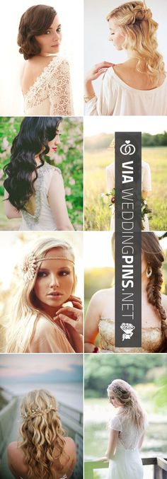 Like this - 27 Bridal Hairstyles for Fall Weddings - Loose & Romantic -  For more amazing ideas visit us at  and remember to join the VIB Ciub   CHECK OUT THESE OTHER COOL PICTURES OF TASTY Simple Wedding Hair AT WEDDINGPINS.NET   #simpleweddinghair2015 #simpleweddinghair #weddinghairstyles #weddinghair #hair #stylesforlonghair #hairstyles #hair #boda #weddings #weddinginvitations #vows #tradition #nontraditional #events #forweddings #iloveweddings #romance #beauty #planners