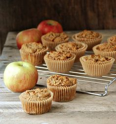 Apple Spiced Muffins from @Heather (Multiply Delicious)