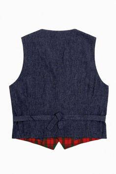 Mosca – Gilet Red Green Check