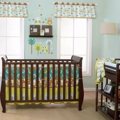 True Baby Tree Tops Crib Bedding Collection