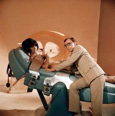 Woody Allen and Daliah Lavi. Casino Royale (1967).