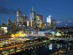Beautiful Melbourne Skyline