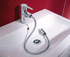 Miscelatore per lavabo / in ottone / in cromo / da bagno HANSARONDA: 03012173 by Michael Lammel & Bertrand Illert HANSA