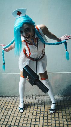 Nurse Jinx (League of Legends) cosplay by MartyCos-Art
