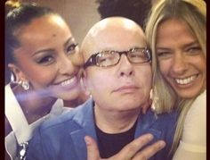 #Lindos @GalisteuOficial com  #Lindo @SabrinaSatoReal e com @Marcelo Tas