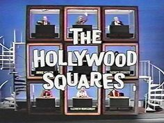 THE HOLLYWOOD SQUARES (1966-2004, NBC, syndicated, etc, USA; theme by Jimmie…