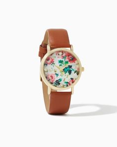 charming charlie | Vintage Blooms Watch | UPC: 410007050890 #charmingcharlie oh my goodness I just drooled....