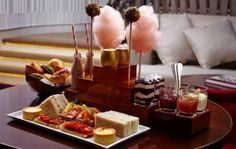 Charlie Tea One Aldwych Afternoon Tea - Charlie and the Chocolate factory inspired high tea with gluten free/dairy free options
