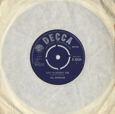 "Val Doonican Just To Satisfy You 1965 UK 7"" vinyl F.12294: VAL DOONICAN Just To Satisfy You (1965 UK 7 vinyl single also featuring Happy…"