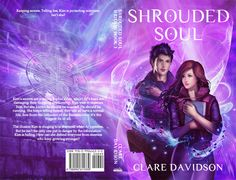 The cover for the third instalment in the Hidden series, Shrouded Soul.
