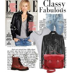 Top set for 17th August. Thanks @polyvore-editorial @polyvore   Leather jackets are wardrobe staples for me, as well as ripped jeans, satchels...  I'm loving th...