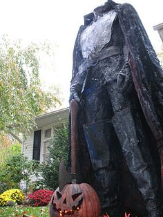 Headless Horseman Display