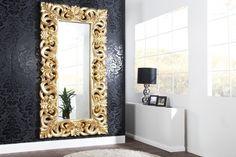 Nástenné zrkadlo ENICE ANTIK - zlatá