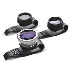 Clip-on lenses for iPhone and iPad