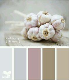 #deco #inspiration #garlic #colorranges