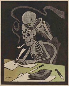 Occult, Swag, Book Illustrations, Skeletons, Gallery, Books, Cards, Vintage, Videos