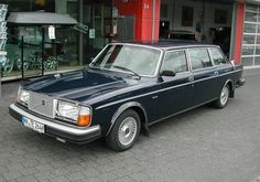 Stretched 1977 Volvo 264 Limousine