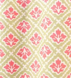 Elton Coral | Online Discount Drapery Fabrics and Upholstery Fabric Superstore!