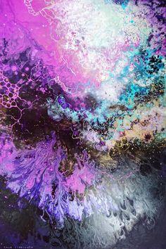 Luha V. Mixed media on canvas. 100x100 cm —————————— Ivayiiah I. Mixed media on canvas. 120x80 cm. —————————— Noeii II. Mixed media on canvas. 120x120 cm. —————————— Louvaah II. Mixed media on canvas....