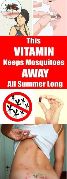 Mama Get Fit | Take This Vitamin To Repel Mosquitoes All Summer Long