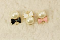 Find More Charms Information about imitation pearl bow floating Enamel Charms Alloy Pendant fit for necklaces bracelets DIY Female Fashion Jewelry Accessories,High Quality pendant finding,China charm clasp Suppliers, Cheap pendant crystal from Playful beauty department store on Aliexpress.com