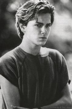 River Phoenix, he used to be the man of my dreams...I'll never forget him!