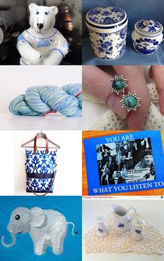 Beautiful Blues by Dennis and Kay on Etsy--Pinned with TreasuryPin.com